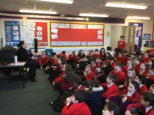 As part of our on-going E-Safety education, ahead of Safer Internet Day on February 11th, Gloucestershire Police PCSO Chloe Williams visited Harewood Junior School to deliver workshops to each year group on staying safe online. The children discussed issues such as keeping personal information safe and making good choices when playing games and searching the internet. Next week, we will be having a special Safety Internet Day assembly to continue the children's learning in this key area.